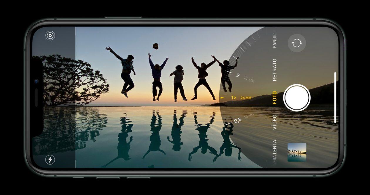 iPhone 11 Pro tirando foto