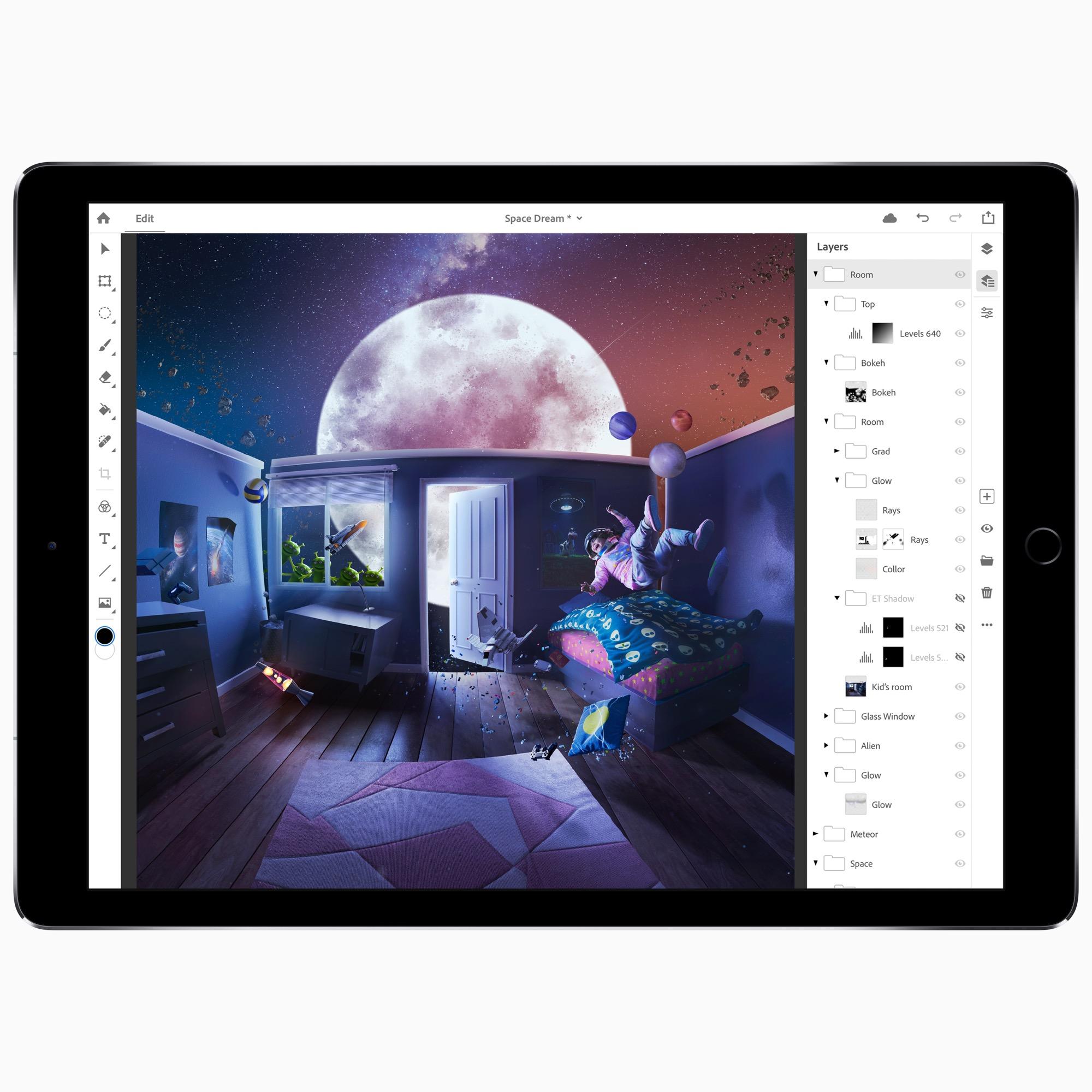 Photoshop CC para iPad