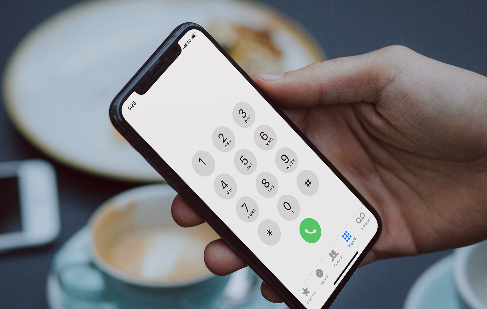 App Telefone do iPhone