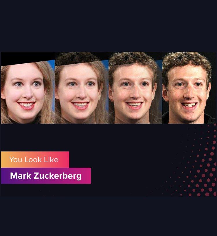 App Gradient te mostra com qual celebridade você se parece