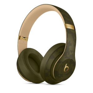 "Beats Studio3 da Camo Collection em ""Forest Green"""