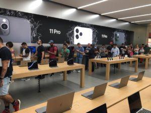 Apple Morumbi no lançamento do iPhone 11