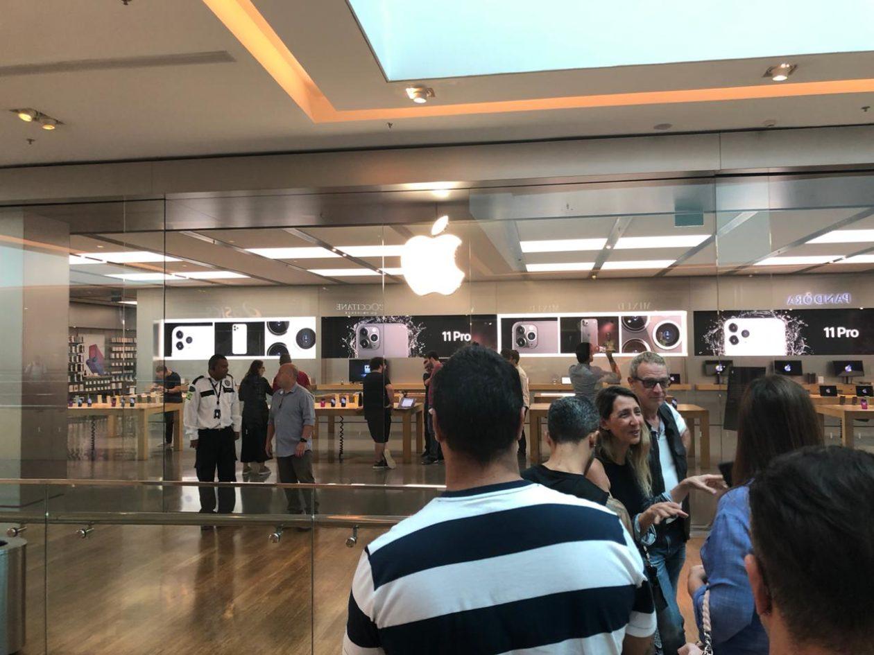 Apple VillageMall no lançamento do iPhone 11