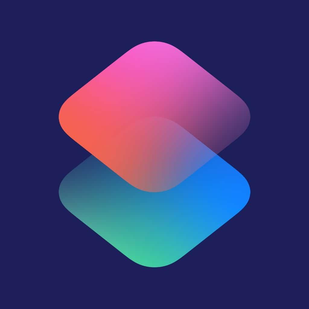 Ícone do app Atalhos para iOS