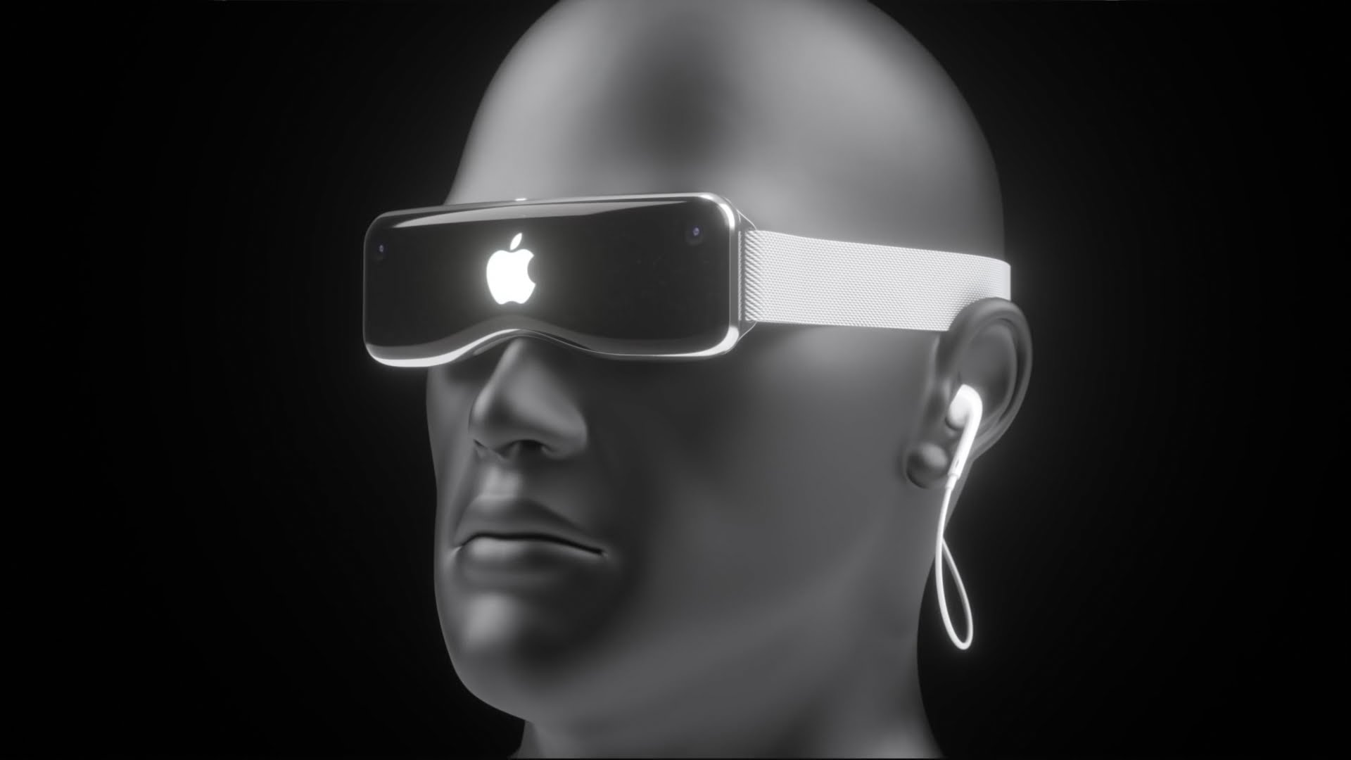"Conceito do ""Apple Glass"""