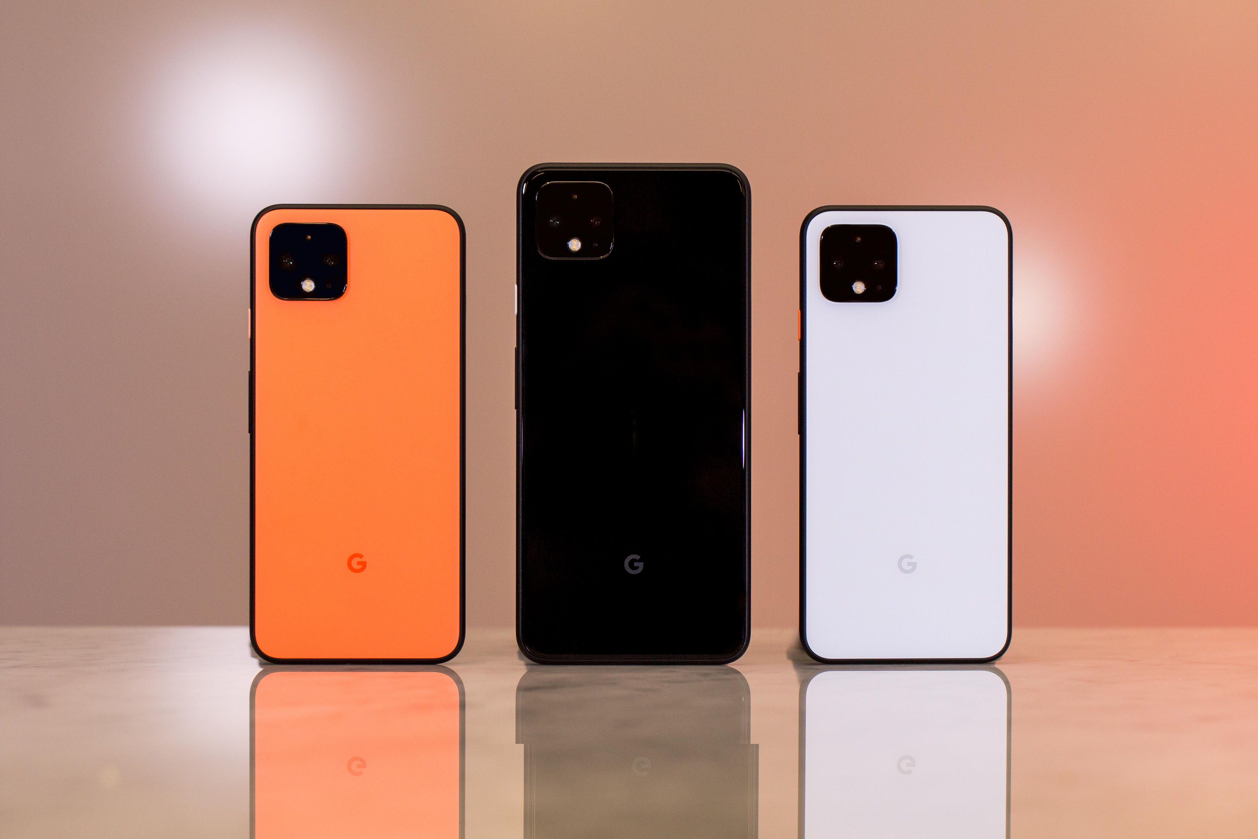 Pixel 4 e iPhone 11 Pro Max