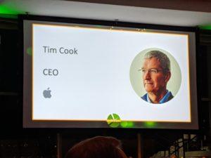 Apple é premiada na Ceres