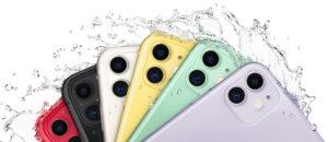 iPhone 11 molhado