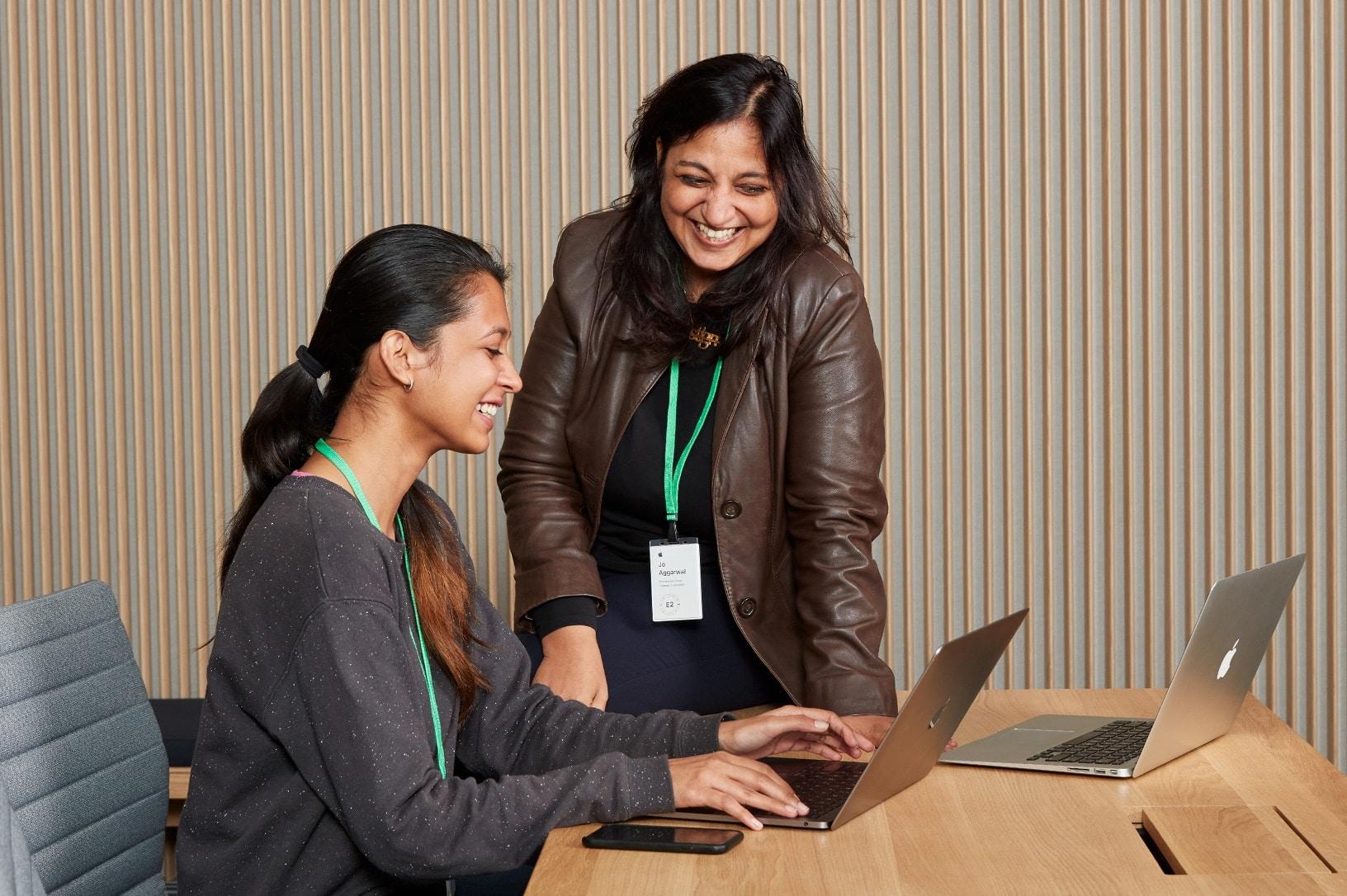 Desenvolvedoras em programa da Apple