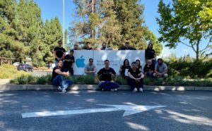 Grupo do MM Tour VIII na Apple de Infinite Loop