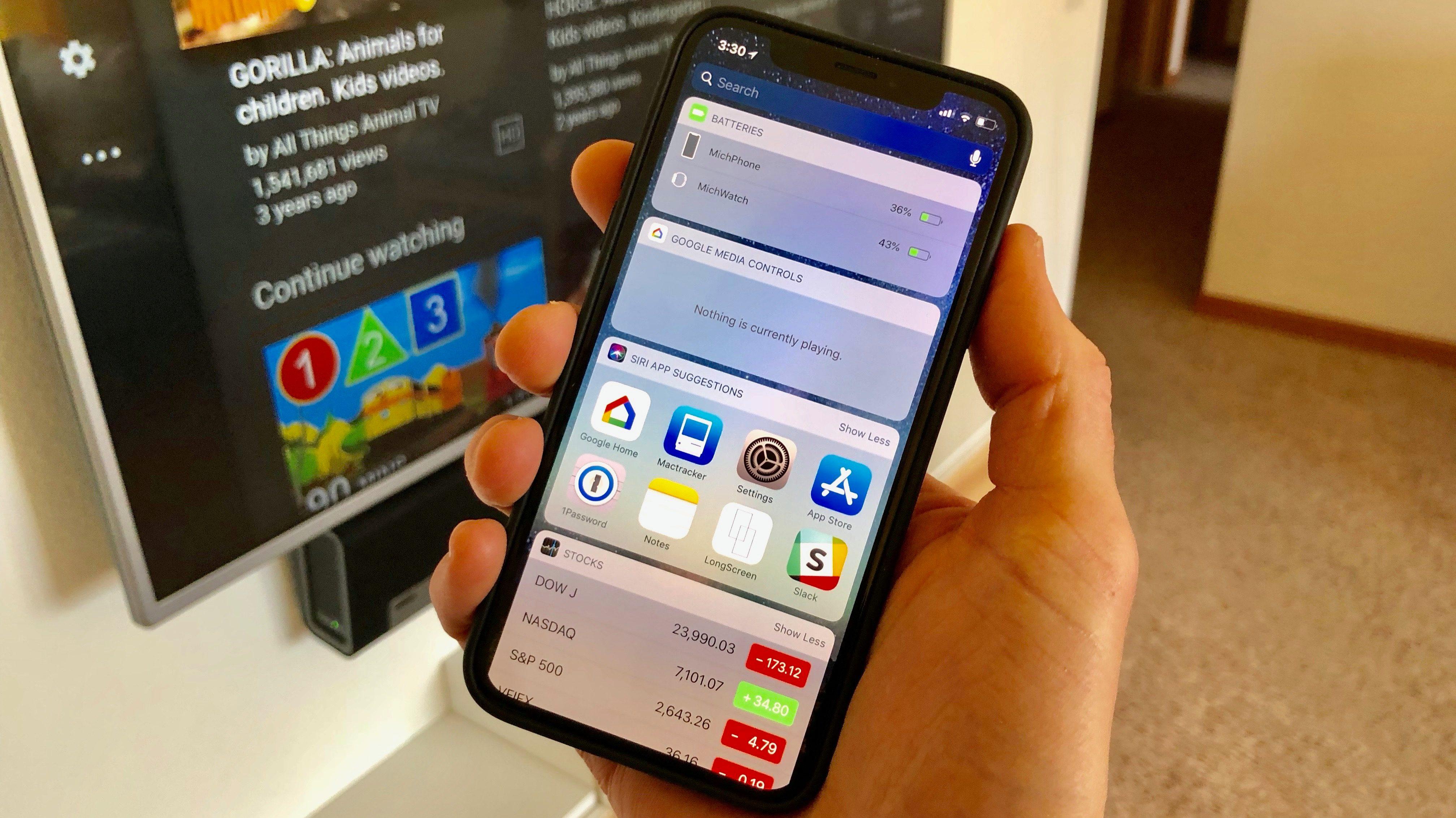 Widgets no iOS