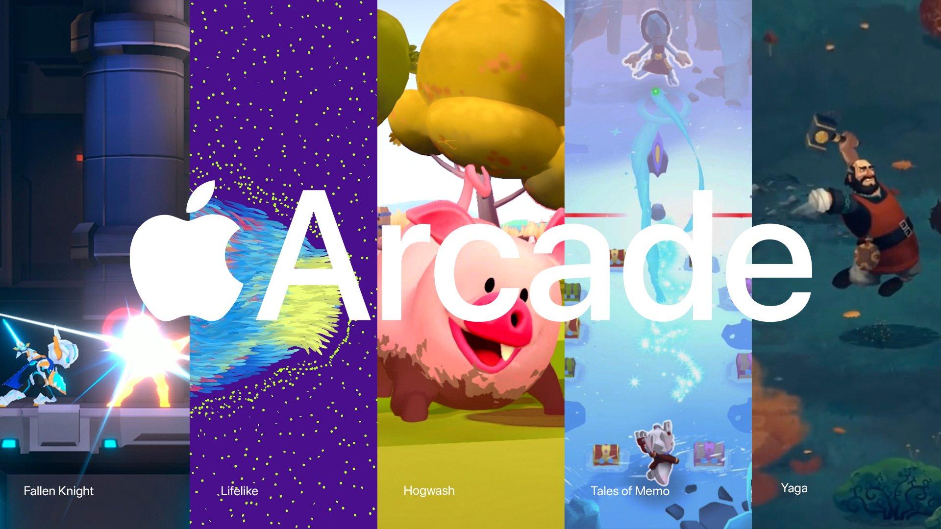 Novos jogos do Apple Arcade em 25/10/19