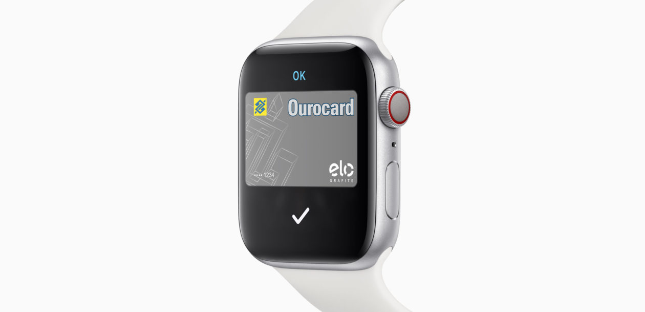 Apple Pay no Apple Watch Series 5