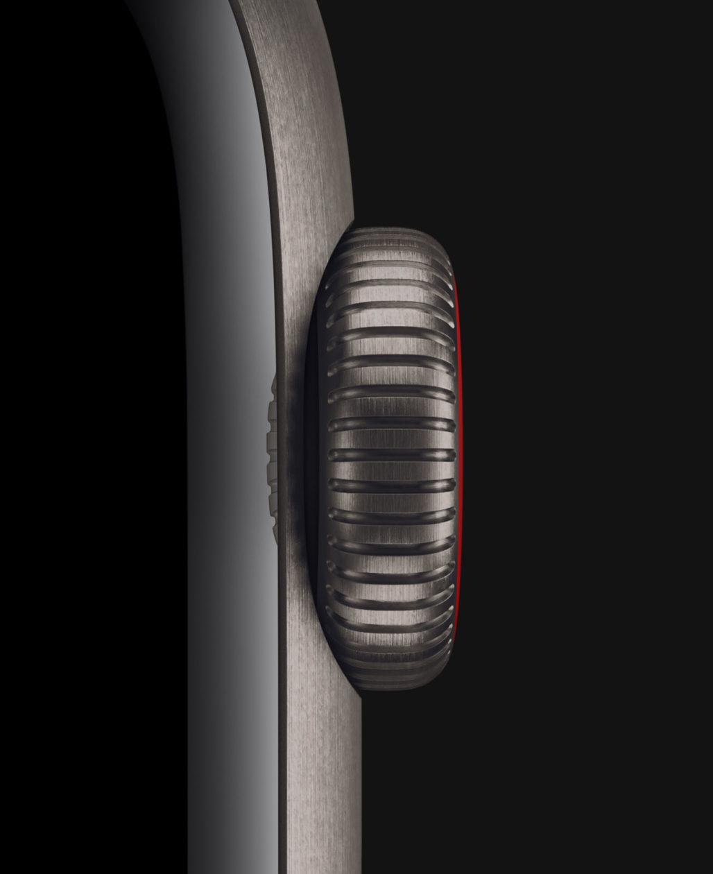 Apple Watch Edition de titânio
