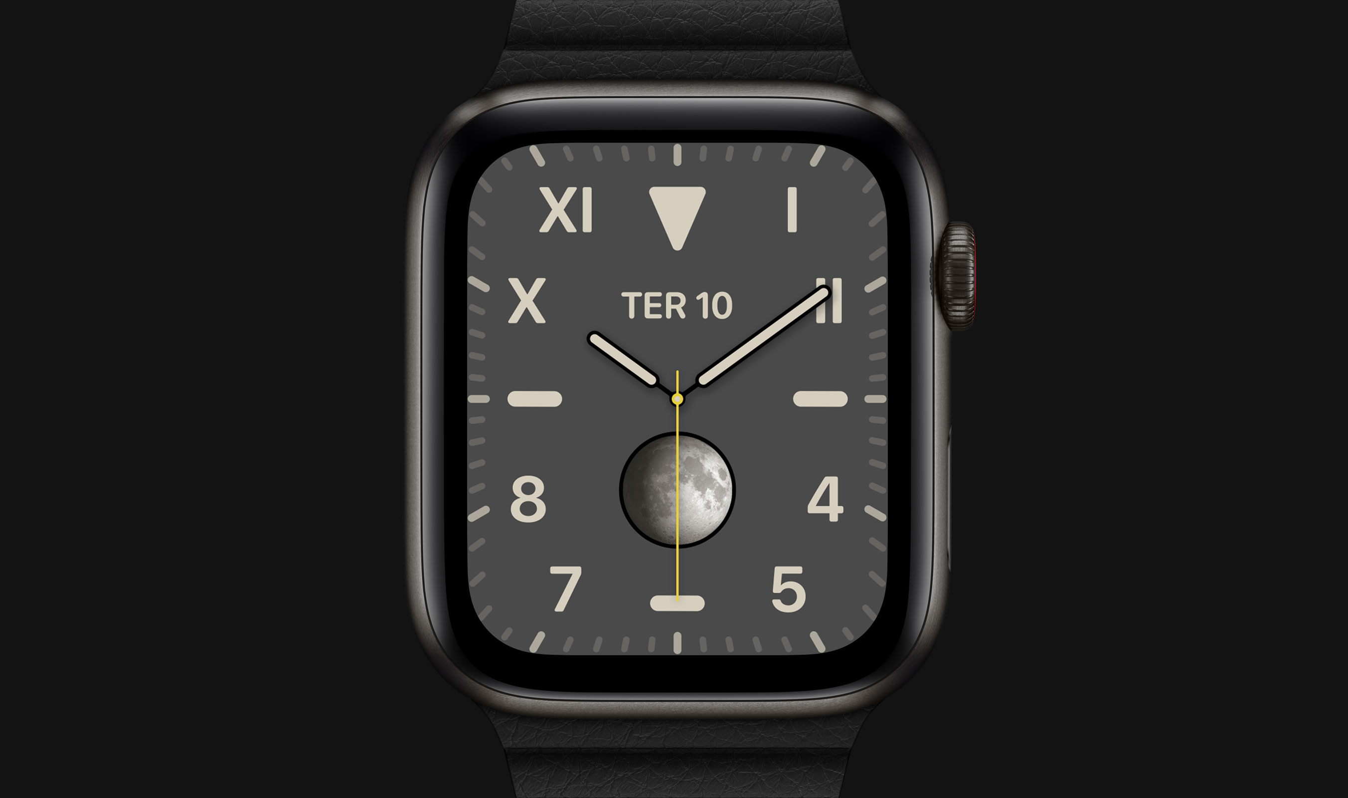 Apple Watch Edition de titânio