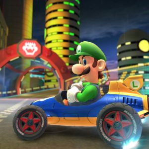 Luigi em Mario Kart Tour