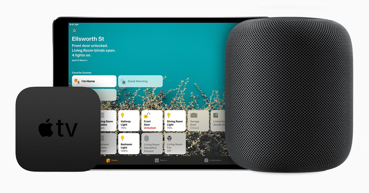 Apple TV e HomePod