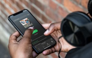 Spotify no iPhone