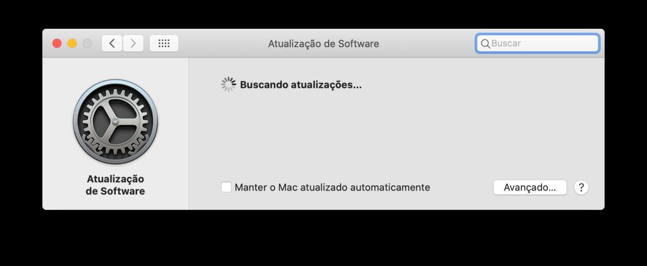 Atualização de Software do macOS