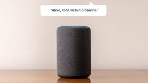 Amazon Echo e Alexa falando português do Brasil