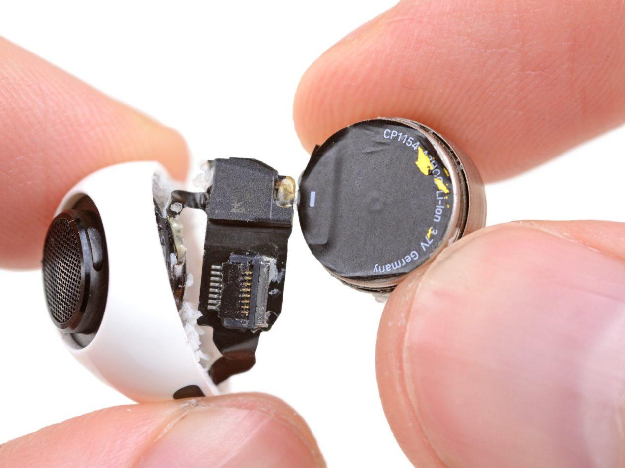 Bateria dos AirPods Pro
