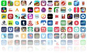 Ícones de apps