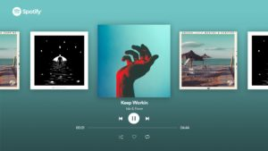 App do Spotify para Apple TV