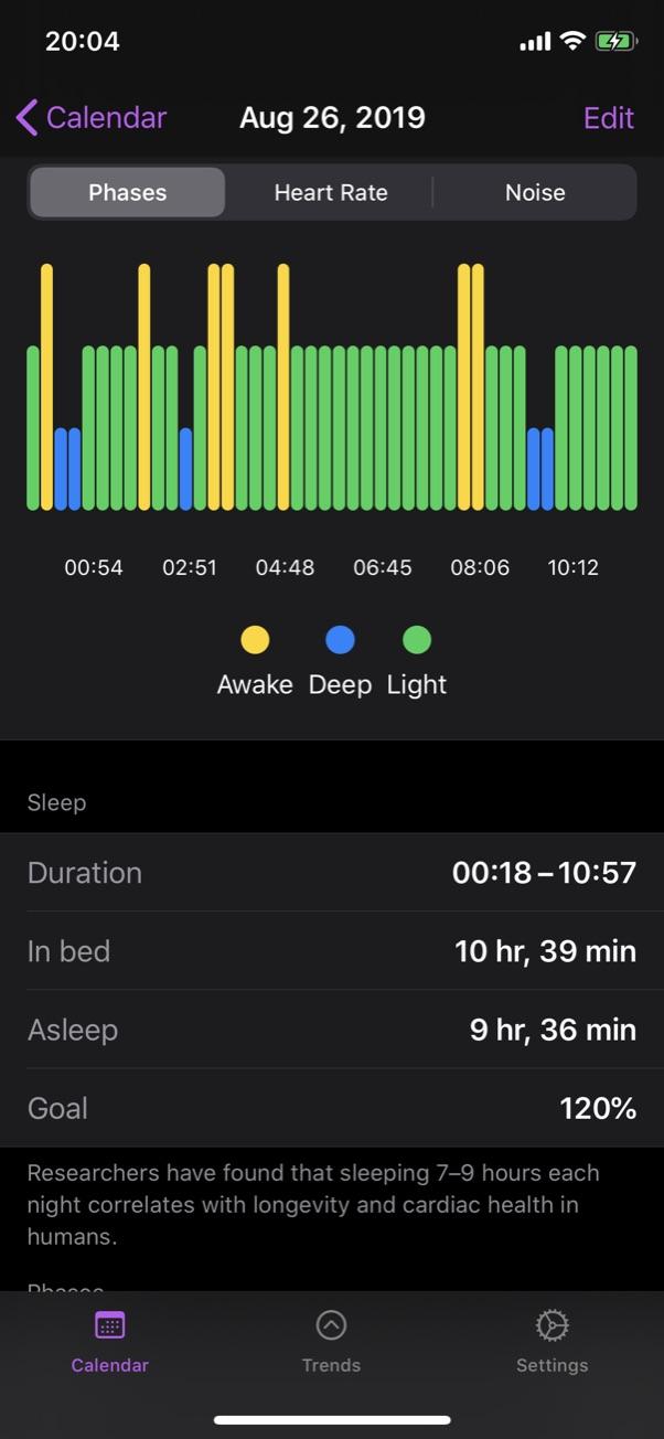 App de monitoramento de sono NapBot