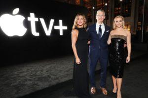 """Jennifer Aniston, Tim Cook e Reese Whiterspoon na estreia de """"The Morning Show"""" do Apple TV+"""