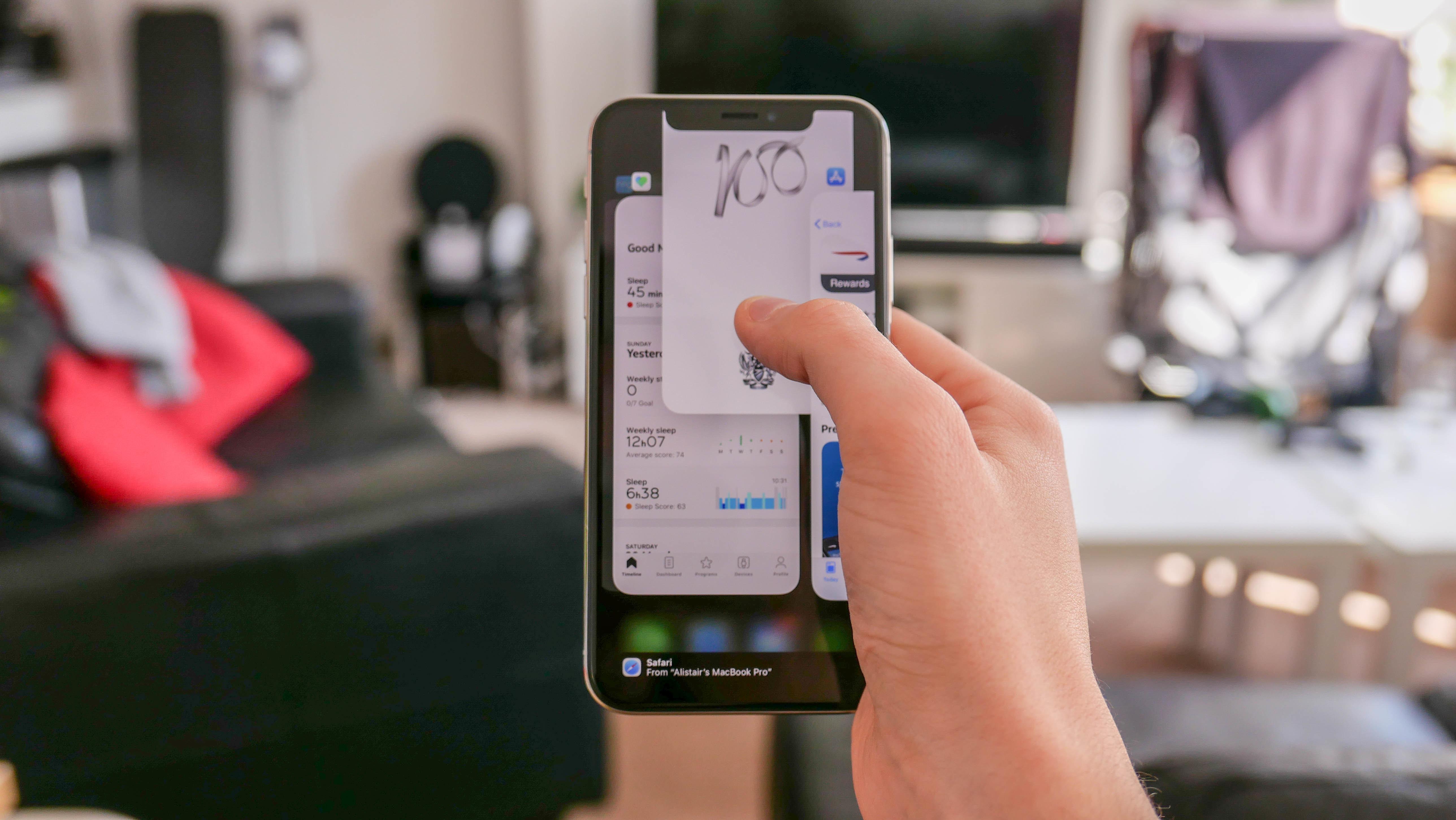 Multitarefa no iPhone