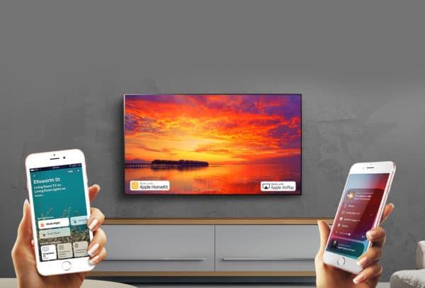 TV OLED da LG compatível com recursos da Apple