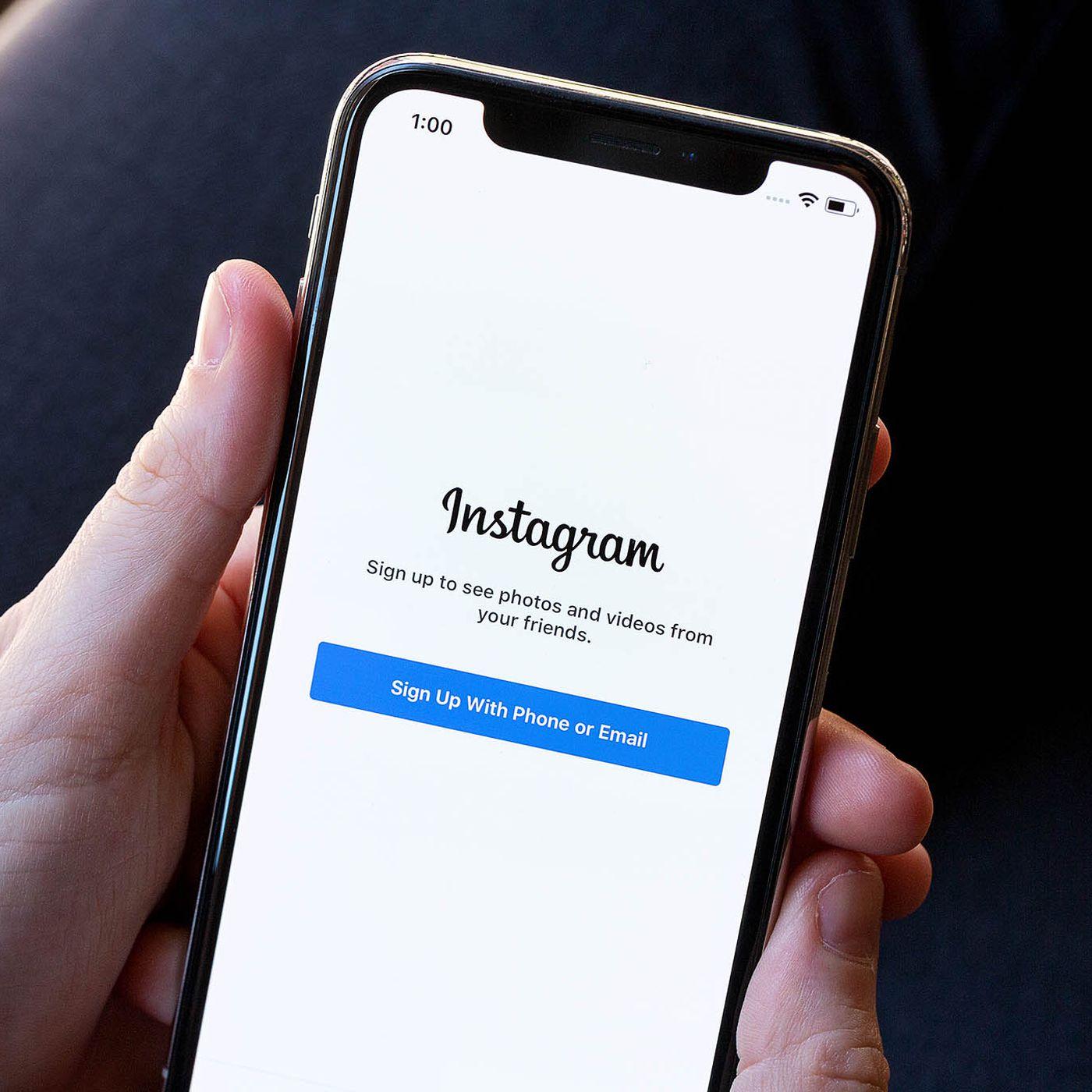 Login no Instagram