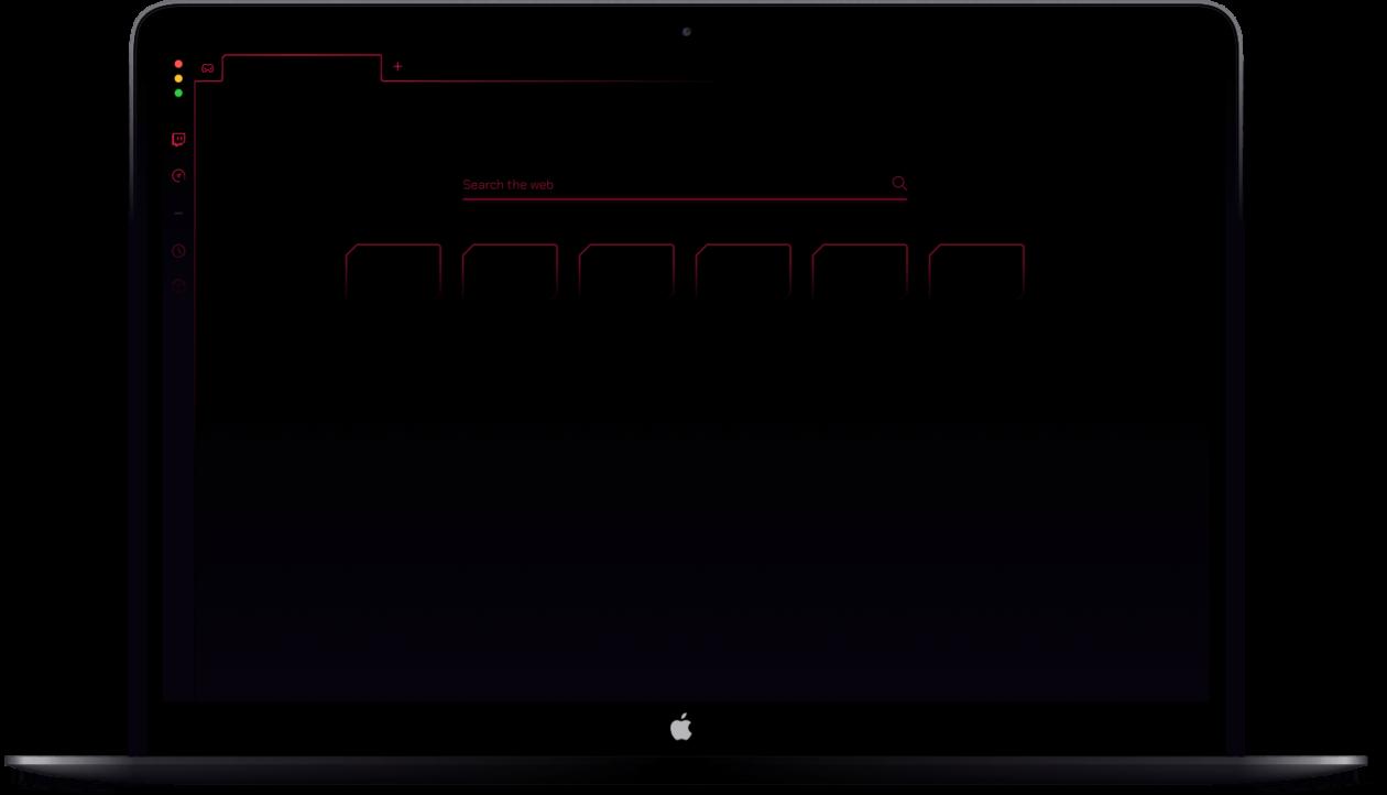 Opera GX no Mac
