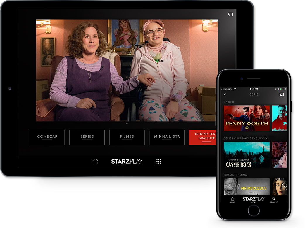 STARZPLAY no iPhone e no iPad