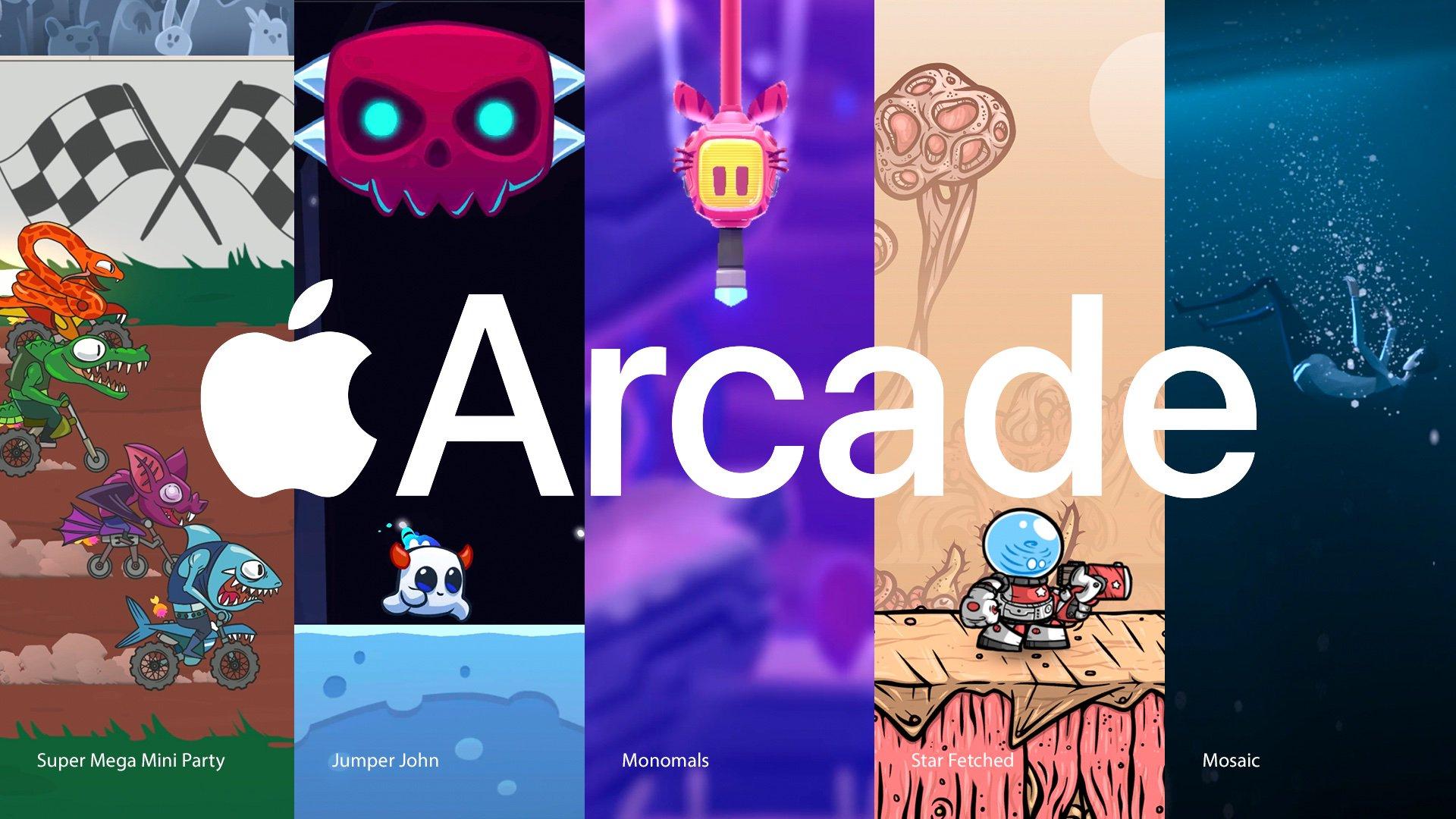Novos jogos do Apple Arcade em 01/11/19