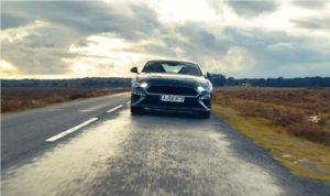 Ford Mustang em vídeo capturado por iPhone 11 Pro