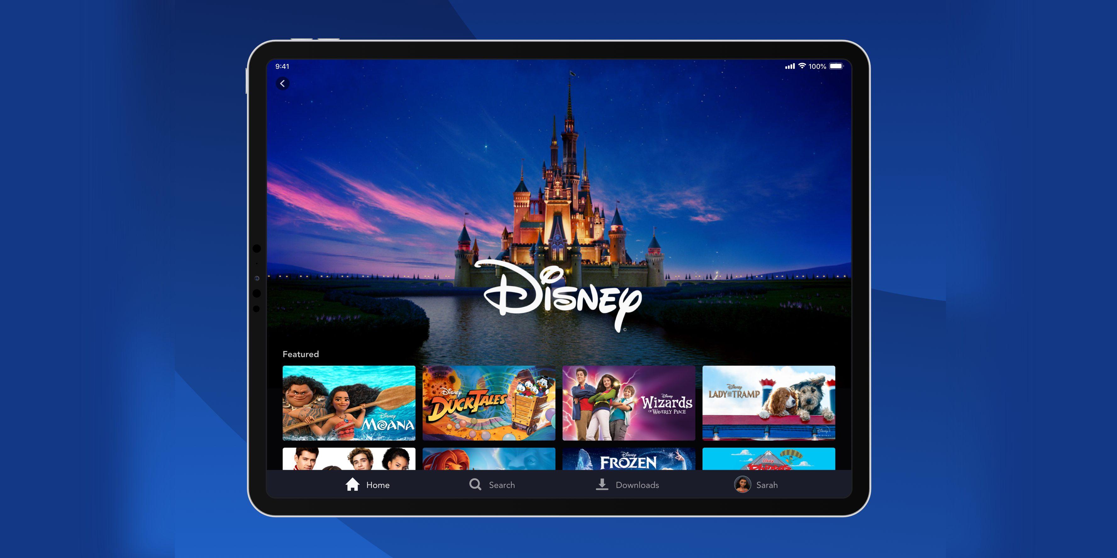 App do Disney+