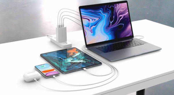 Dispositivos conectados ao HyperJuice