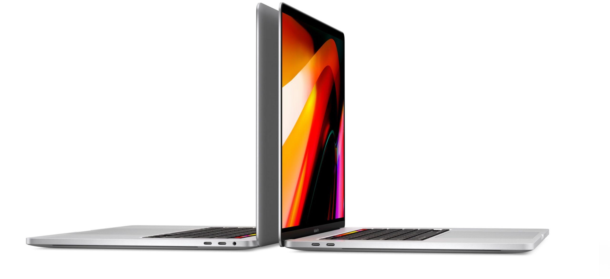 Conectores do MacBook Pro de 16 polegadas