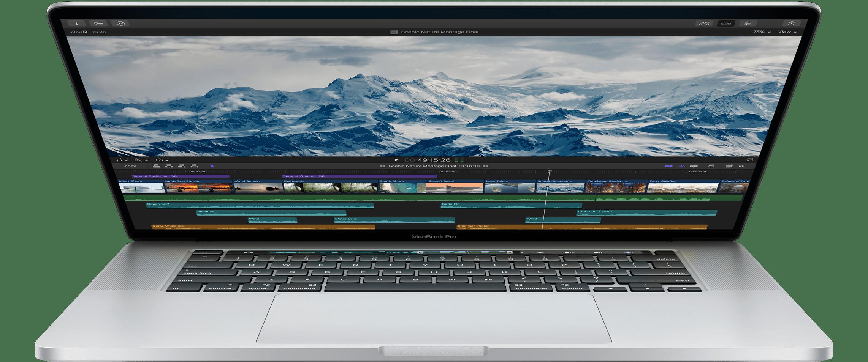 MacBook Pro de 16 polegadas