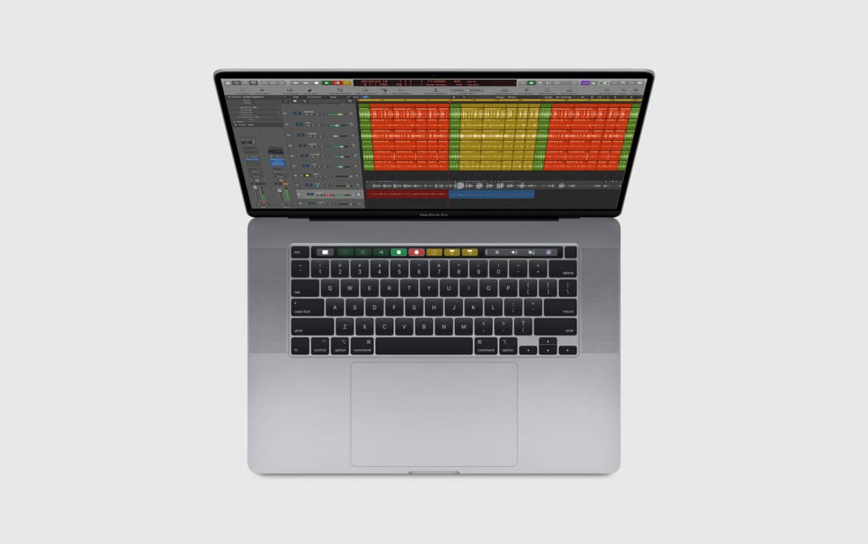 Teclado do MacBook Pro de 16 polegadas