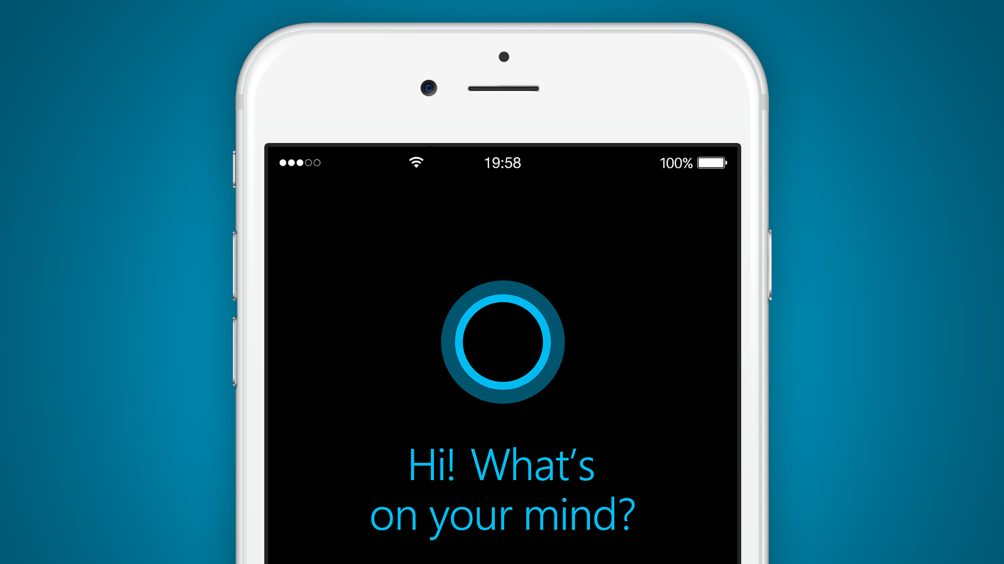 App da Cortana para iOS