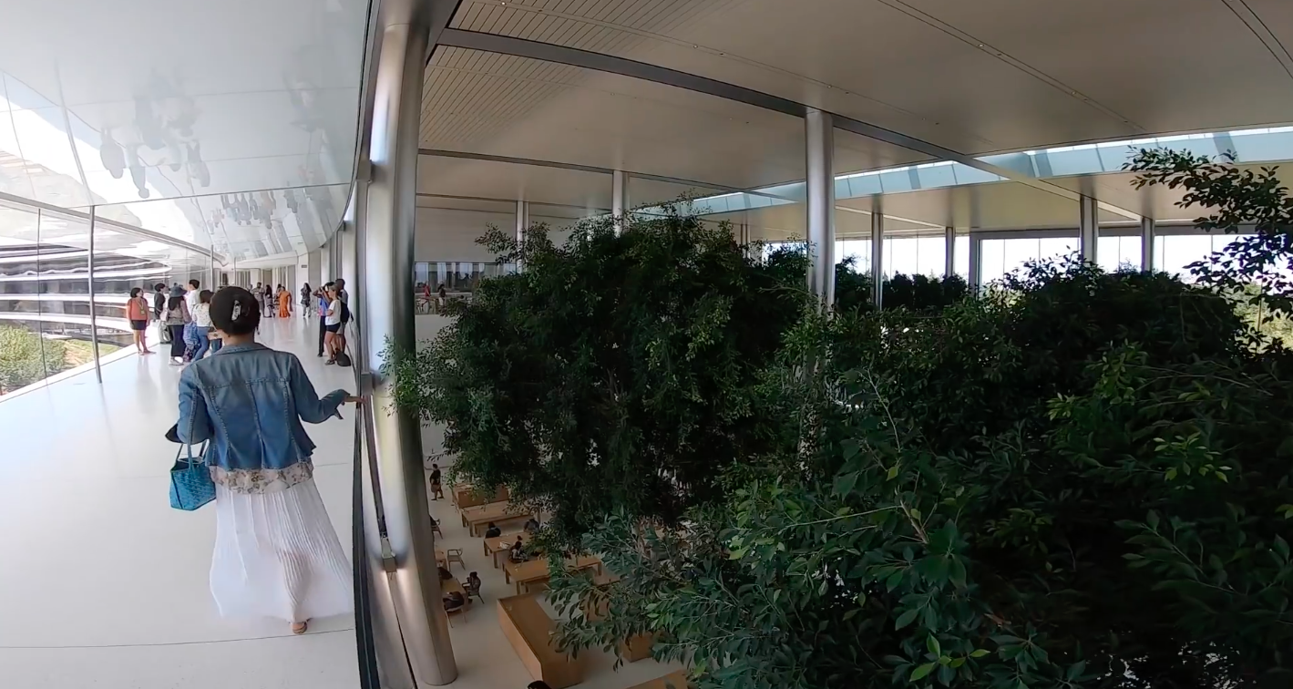 Por dentro do Apple Park