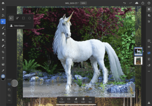 Futuros recursos do Photoshop para iPad