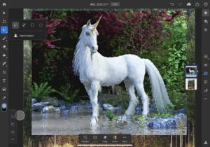 Futuros recursos do Photoshop para iPad