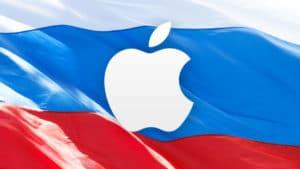 Apple na Rússia
