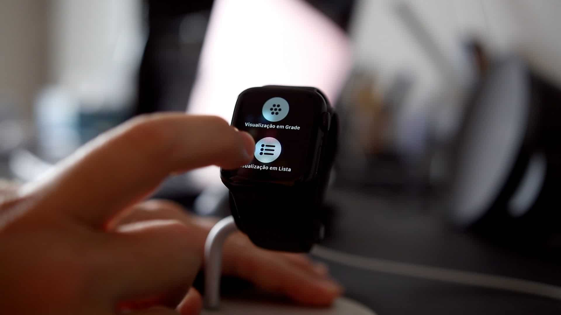 Force Touch no Apple Watch
