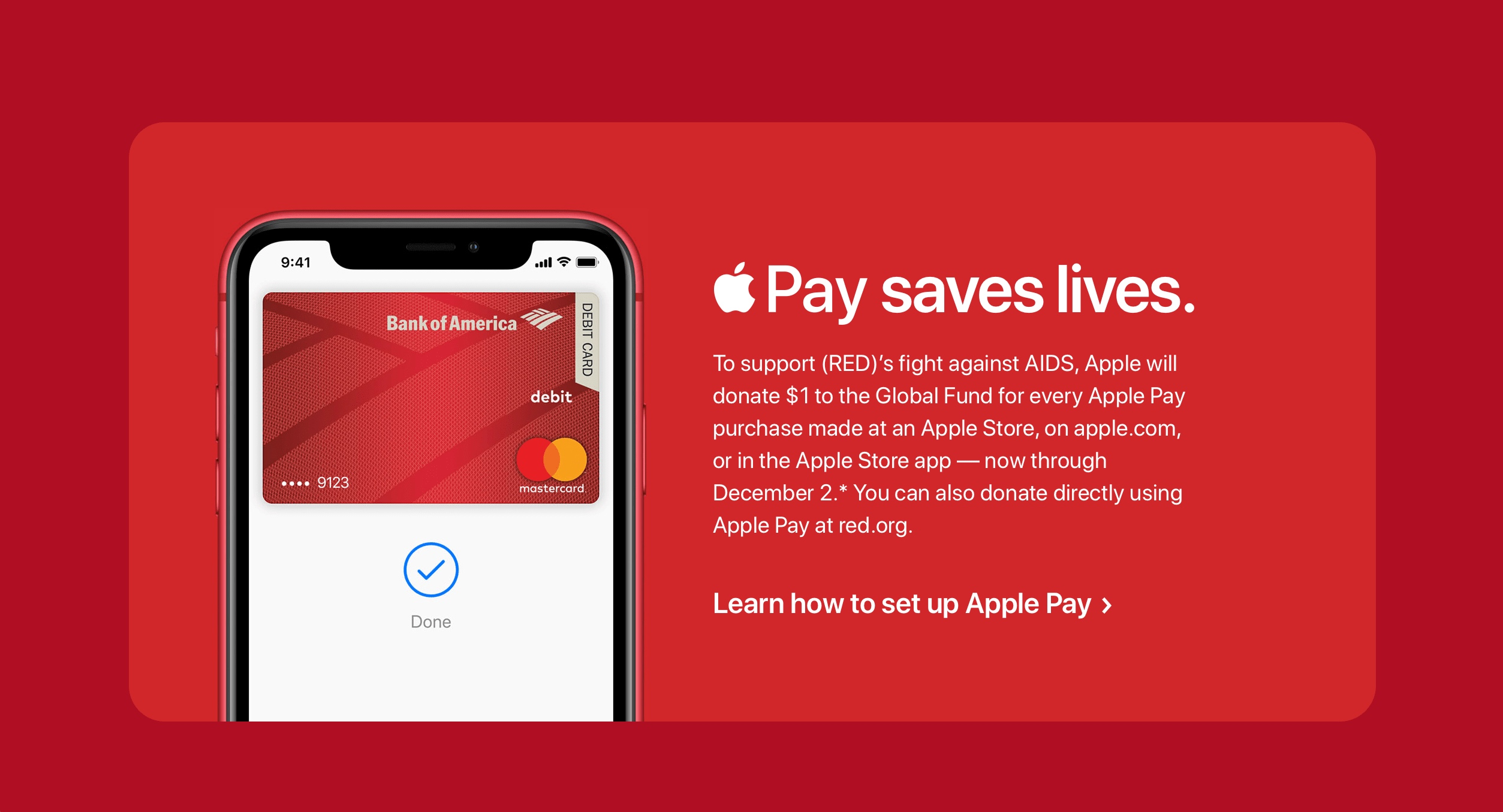 Apple Pay e (RED)