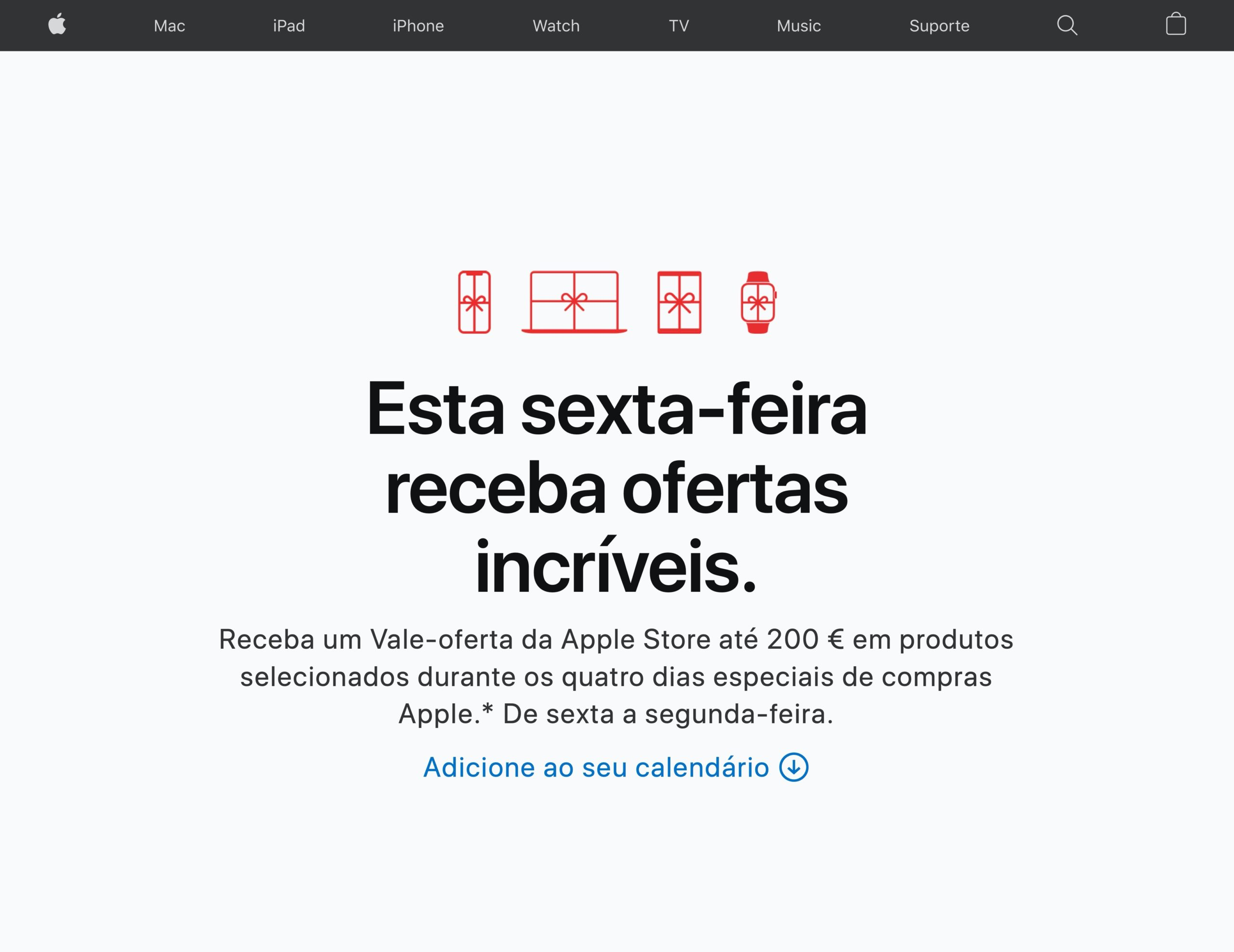 Apple na Black Friday