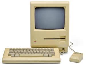 """Protótipo de Macintosh com drive de disquete """"Twiggy"""""""